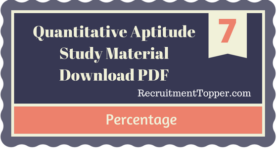 Quantitative aptitude simplification and approximation tutorial.