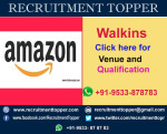 Amazon Walkins for Freshers at Bangalore