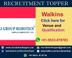 J Group Robotics Walkins For Fresher at Mumbai
