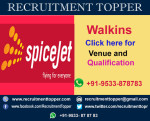 Spice Jet Walkins for Experienced at Bangalore