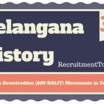 Telangana History Aborigin Downtrodden (ADI-DALIT) Movements in Telangana