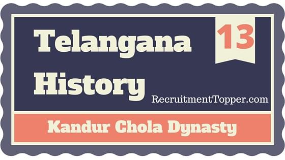 telangana-history-kandur-chola-dynasty