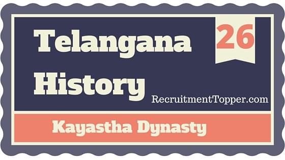 telangana-history-kayastha-dynasty