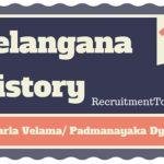 Telangana History Recharla Velama/ Padmanayaka Dynasty