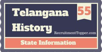 Telangana History State Information