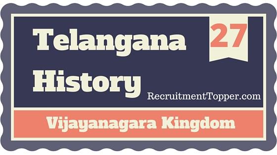 telangana-history-vijayanagara-kingdom