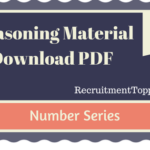 Number Series Reasoning Material for All Competitive Exams | PDF Download