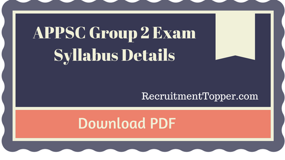 appsc-group-2-exam-syllabus-details