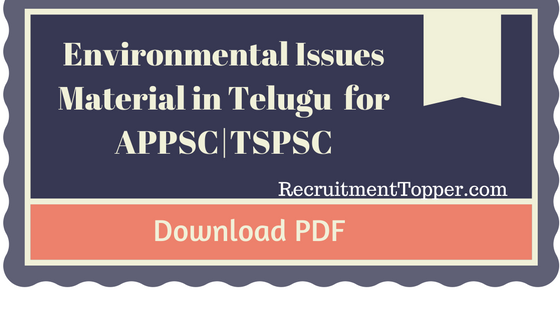 appsc-tspsc-group-2-paper-i-environmental-issues-material-in-telugu-download-pdf