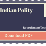 Short Notes on Indian Polity Download Pdf