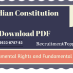 Indian Constitution | Fundamental Rights and Fundamental Duties Download PDF