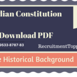 Indian Constitution | The Historical Background Download PDF