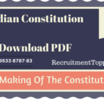 Indian Constitution | The Making Of The Constitution Download PDF