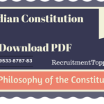 Indian Constitution | The Philosophy of the Constitution Download PDF