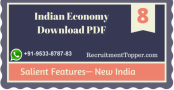 Indian Economy | Salient Features – New India Download PDF
