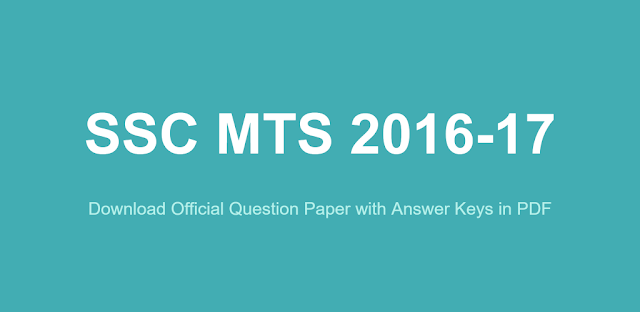 ssc-mts-2016-question-paper-with-answer-key-download-pdf